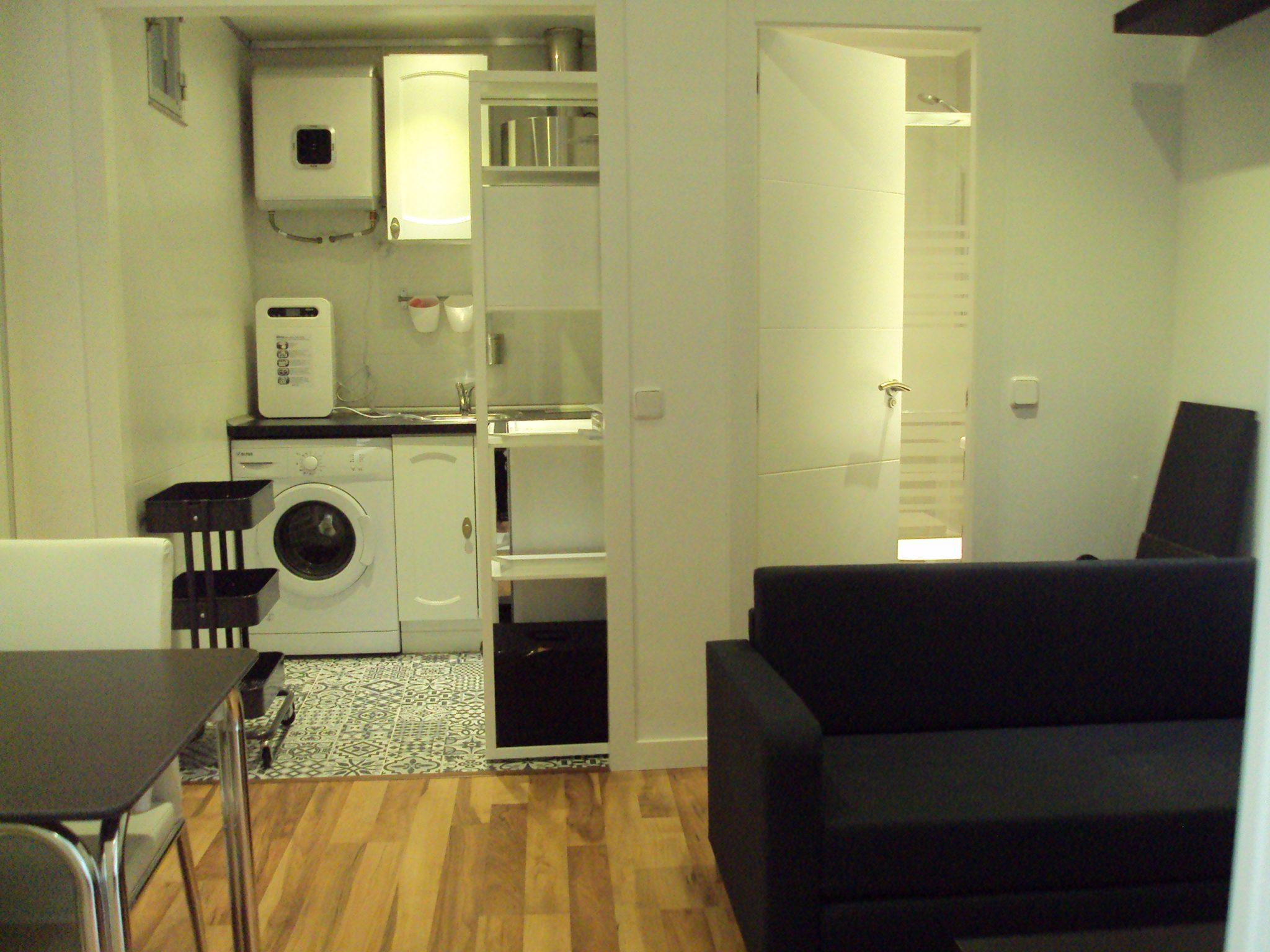 Alquiler de Estudio en calle Monteleon | Malasaña – Madrid