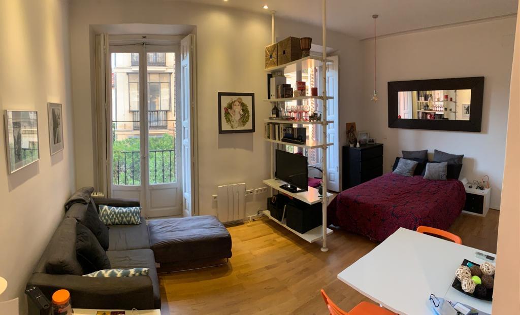 Alquiler Estudio en Calle Desengaño – Malasaña – Centro – Madrid